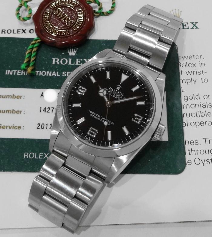 half off ed456 2ffcb ロレックス エクスプローラーI 14270 A番 日本ロレックス国際 ...